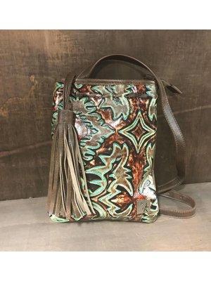 3D Belt Company Angel Ranch Cross Body Bag HB1039TQ