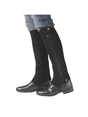 Ovation EZE Tab Suede Half Chaps