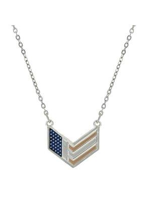 Montana Silversmith Chevron Flag Necklace