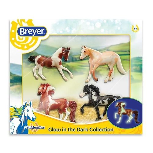 Breyer Horse Crazy Glow in the Dark Set