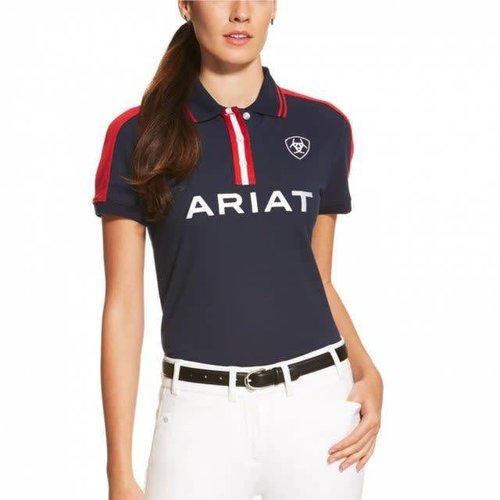 Ariat Women's Team Polo Navy