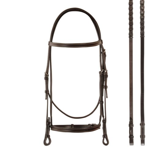 Bobby's Raised Snaffle Bridle