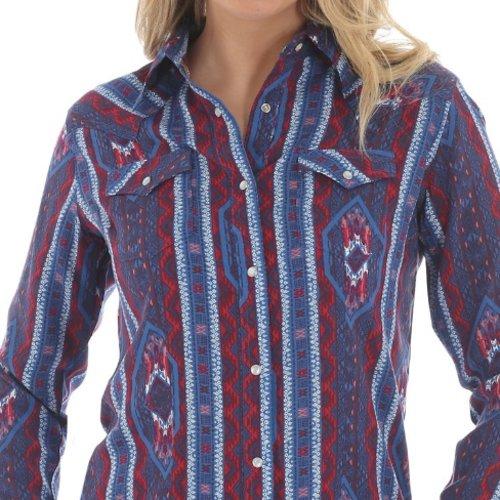 Wrangler Aztec Print Western Shirt LW7230M