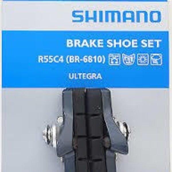 Shimano BR-6800 BRAKE SHOE SET R55C4 CARTRIDGE-TYPE 1 PAIR