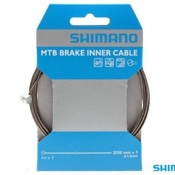 Shimano BRAKE CABLE - MTB 1.6x2050mm STAINLESS