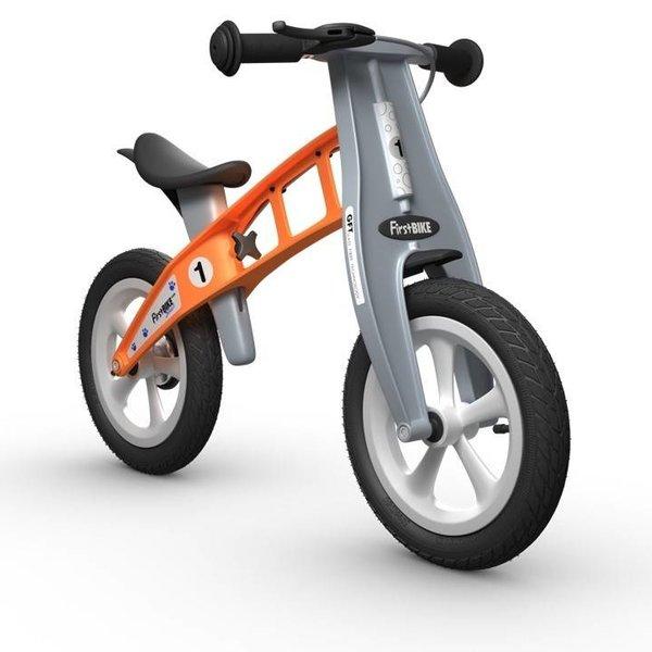 "FirstBIKE Street with Brake - 12"" Balance Bike Orange"