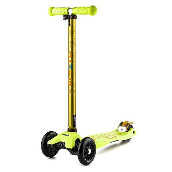 Micro Maxi Deluxe Scooter Yellow