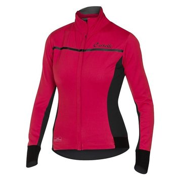 Castelli Women's Trasparente Jersey Pink L