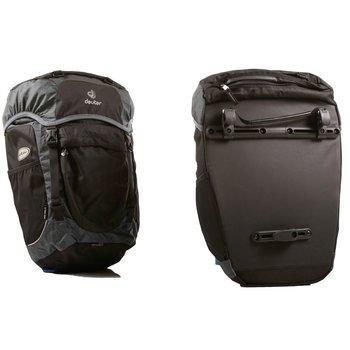 Deuter Rack Pack II Pannier Bags Black