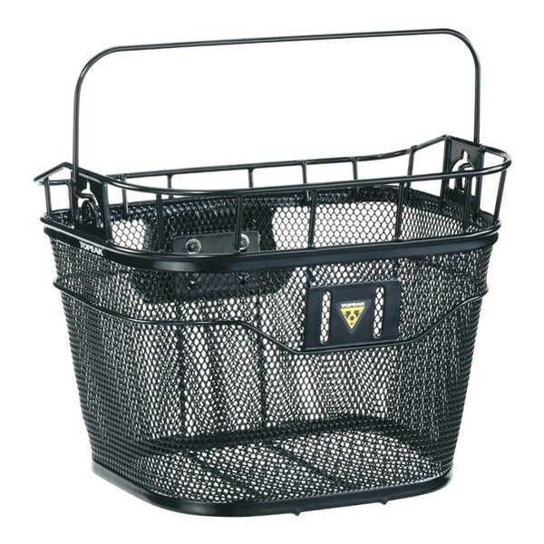 Topeak Metal Basket Front Black