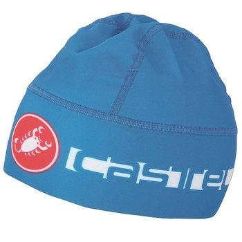 Castelli Beanie Thermo Skully Blue