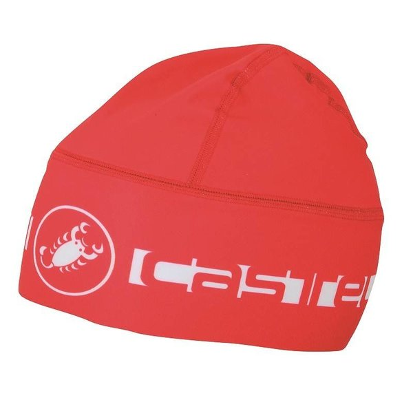 Castelli Beanie Thermo Skully Red