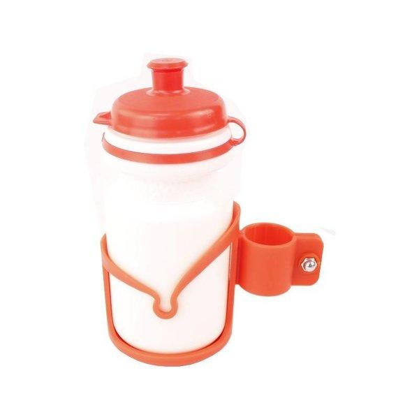 REX Kids Bottle & Cage Red