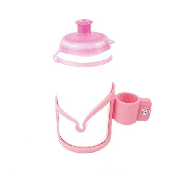 REX Kids Bottle & Cage Pink