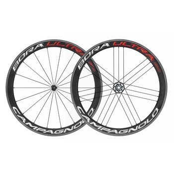Campagnolo Bora Ultra 50 Clincher Wheelset Bright Label
