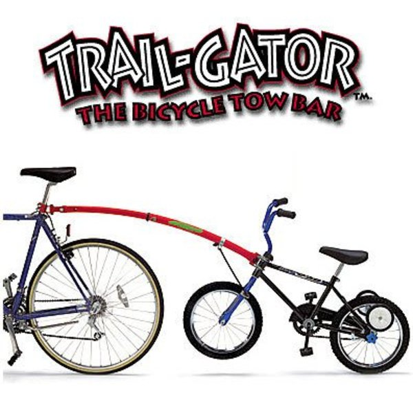 Trail-Gator Bicycle Tow Bar Silver