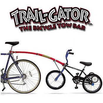 Trail-Gator Bicycle Tow Bar Blue