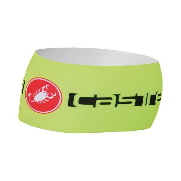 Castelli VIVA THERMO HEADBAND YELLOW