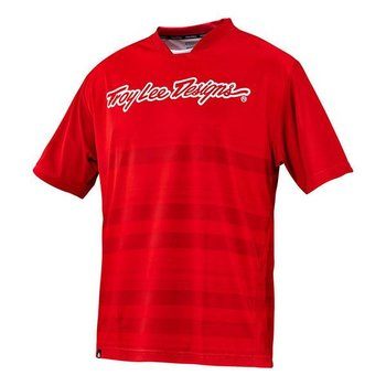 Troy Lee Designs Skyline Jersey Divided Fire Red S