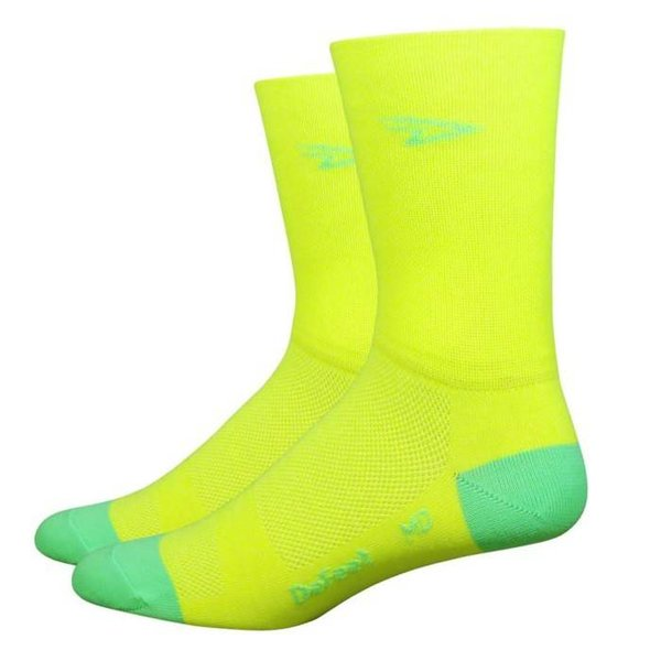 DeFeet Aireator Socks Yellow S