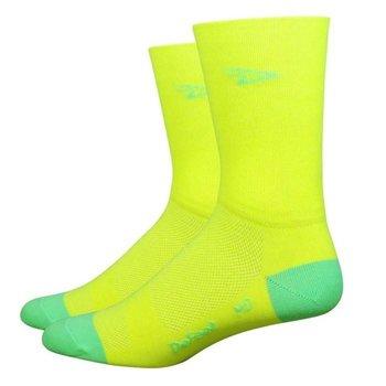 DeFeet Aireator Socks Yellow XL