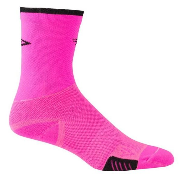 DeFeet Cyclismo Socks Pink M