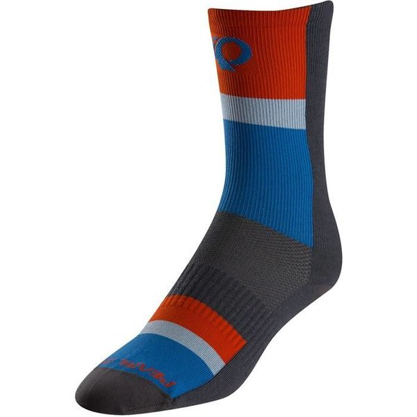 Pearl Izumi SOCKS - ELITE TALL STRIPE BLUE MEDIUM