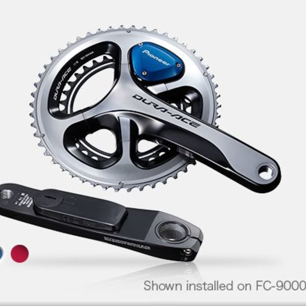 Pioneer Gen2 Power Meter System SGY-PM910V + Dura-Ace 9000 Crank 52-36/175mm