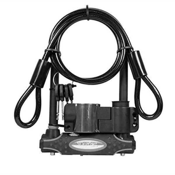 Master Lock U-Bar + Cable Lock
