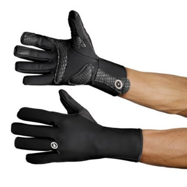 Assos earlyWinterGloves_s7 Black Volkanga