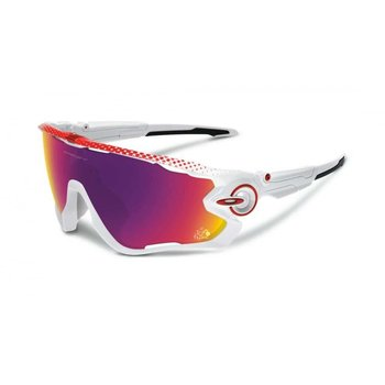 Oakley Jawbreaker PRIZM Road Tour de France Polished White