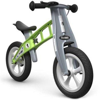 "FirstBIKE Street with Brake - 12"" Balance Bike Green"