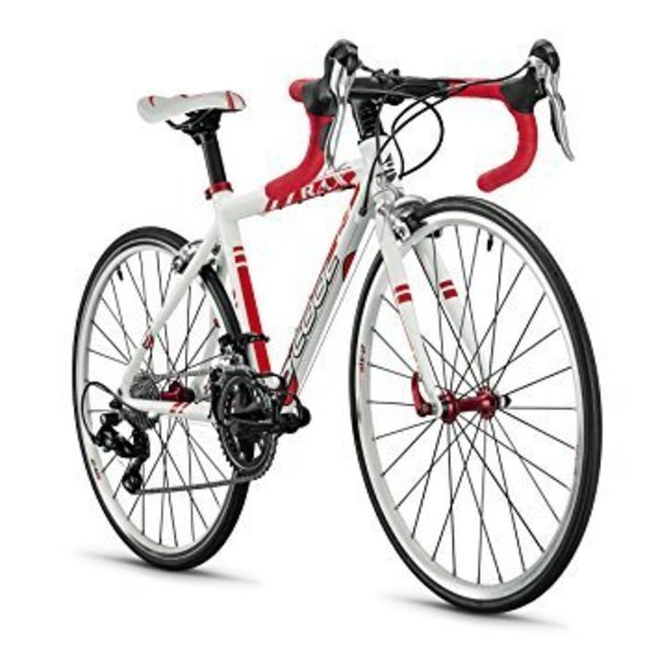 """S'Cool RAX 24"""" White Road Bike"""