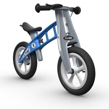 "FirstBIKE Street with Brake - 12"" Balance Bike Light Blue"