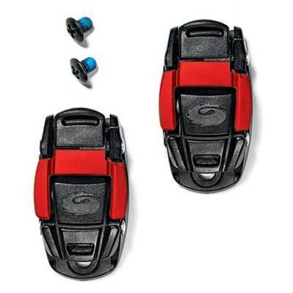 Sidi Replacement Caliper Buckle Black/Red (Pair)