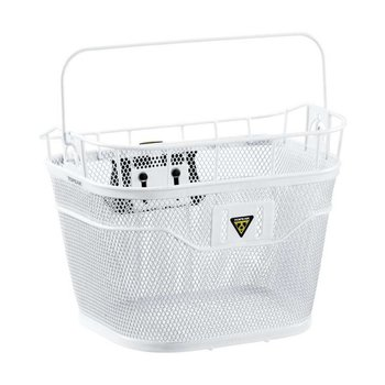 Topeak BASKET FRONT (w/FIXER 3) WHITE