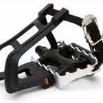 "Giant EXT Tec Pedals 9/16"" (with Clips & Straps)"