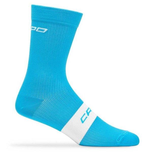 Capo Active Compression 15cm Socks Cyan L/XL