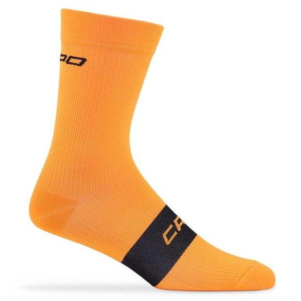 Capo Active Compression 15cm Socks Orange L/XL