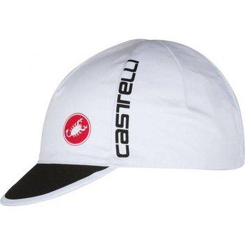 Castelli Cap Free White/Black