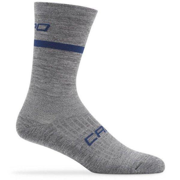 Capo Euro 200 Merino Wool 15cm Socks Grey S/M