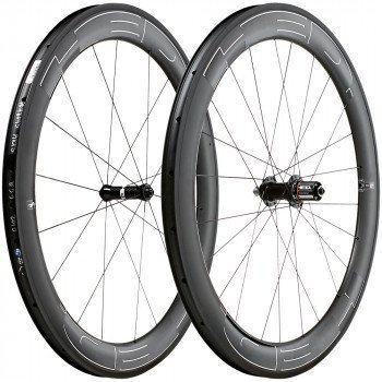 HED Jet 6 Plus Black Clincher Wheelset