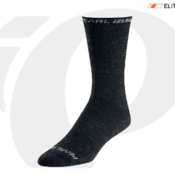 Pearl Izumi SOCKS - ELITE THERMAL WOOL BLACK SMALL