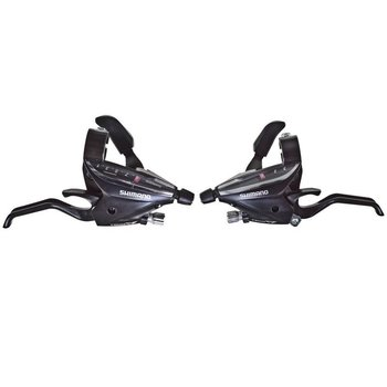 Shimano ST-EF65 EZ-FIRE STI SET ACERA 7-SPEED BLACK