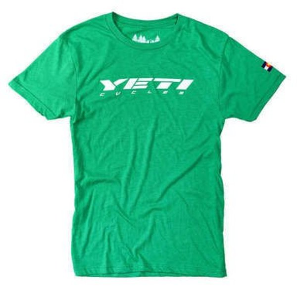 Yeti T-Shirt Ride Jersey Envy Green