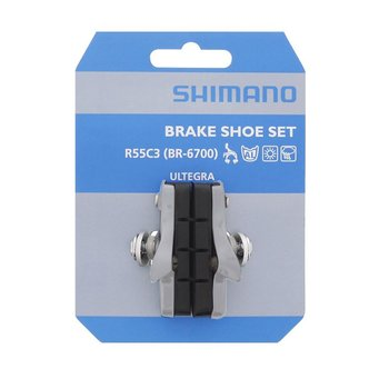 Shimano BR-6700 BRAKE SHOE SET R55C3 CARTRIDGE-TYPE 1 PAIR