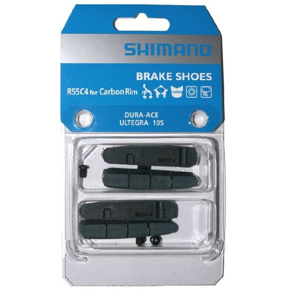 Shimano BR-9000 BRAKE PAD INSERTS R55C4 for CARBON RIMS 1 PAIR
