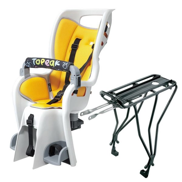 Topeak Topeak BABYSEAT II CHILD CARRIER & BABYSEAT II RACK (DISC)