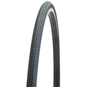 Bikecorp Tyre 27 x 1-1/4 Block Tread All Black