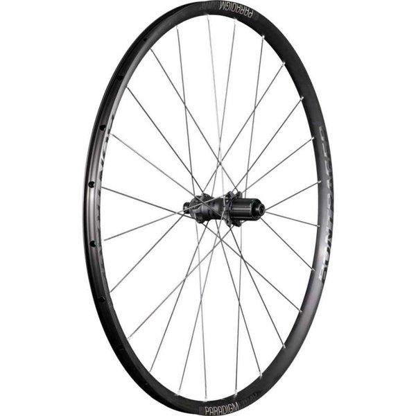 Bontrager Paradigm Comp TLR Disc Road Wheel Black/Anthracite